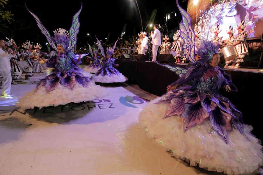 El cierre de los Carnavales del país se celebró en Vicente López con más de 60 mil personas
