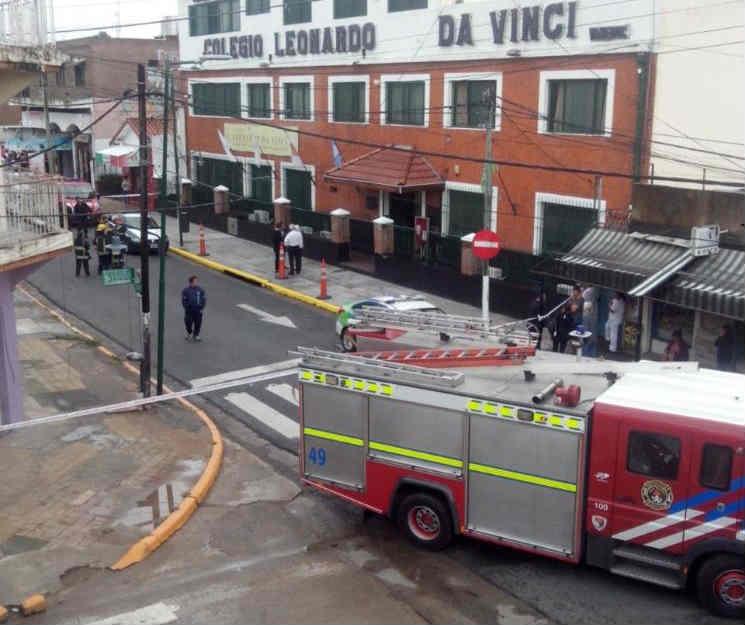 Evacuaron una escuela de Boulogner por una amenaza de bomba