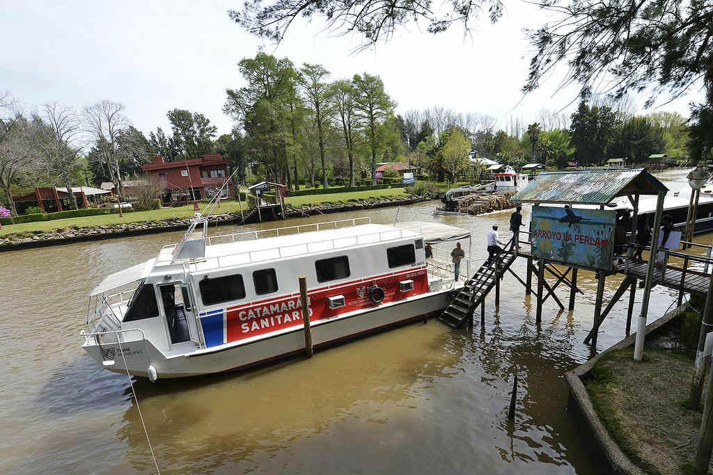 Cronograma del Catamarán Sanitario en el Delta de Tigre