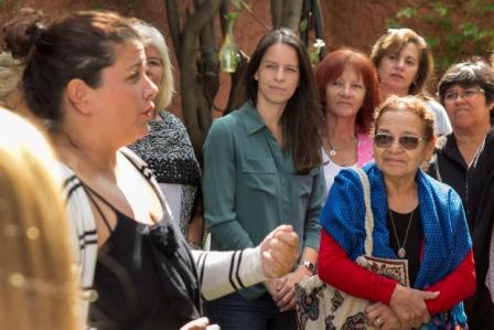 La Secretaría de Desarrollo Social de Vicente López, Soledad Martínez, recorrió junto a Agustina Ayllón, presidenta del Instituto de Género y Diversidad Sexual de la provincia de Buenos Aires, el Centro de la Mujer y Políticas de Género