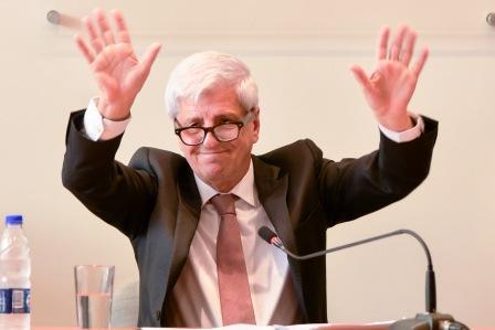 Luis Andreotti, dio apertura a las sesiones ordinarias del HCD