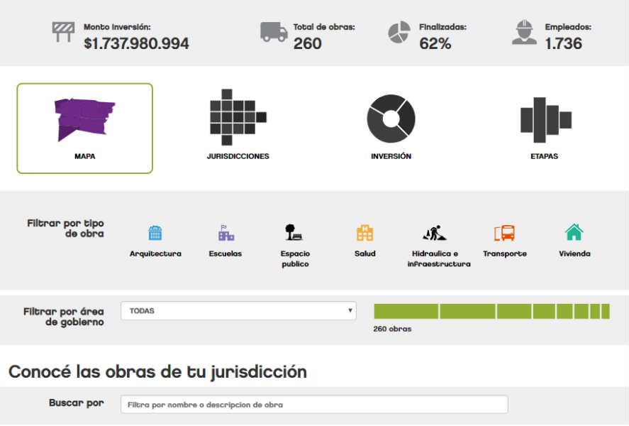 """Vicente López hizo el lanzamiento de la nueva interfaz """"VL OBRAS"""""""