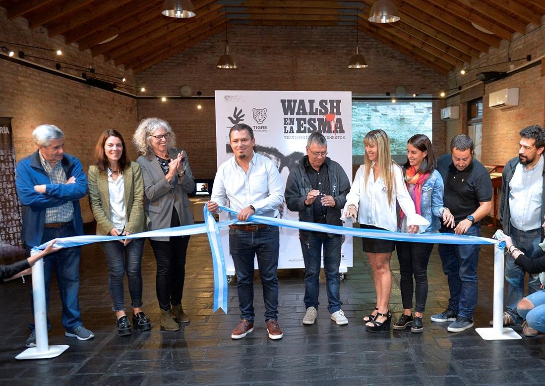 A 42 años de la desaparición de Rodolfo Walsh, Tigre inauguró una muestra que reúne testimonios y documentos