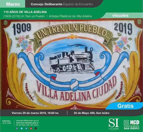 Villa Adelina celebrará sus 110 años de vida en el HCD de San Isidro