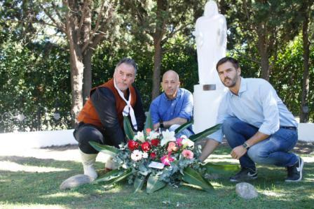 Ducoté encabezó el acto por el Día de la Memoria