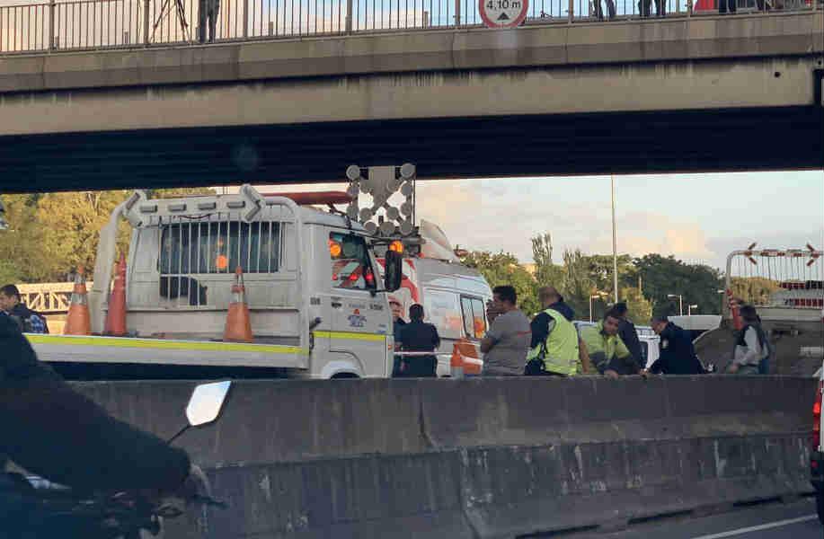 Dos muertos en dos choques múltiples sobre la autopista Panamericana