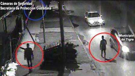 La tecnología del COT rastreó a dos sujetos que atacaron y robaron a una mujer
