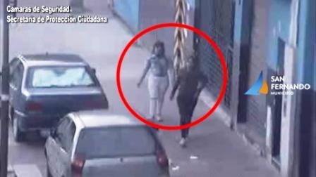 Las Cámaras de San Fernando permiten detener a dos mujeres que robaron el interior de un auto estacionado
