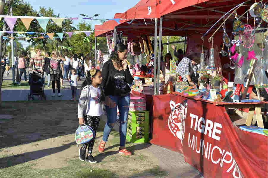 El municipio promueve el crecimiento de los emprendedores locales con la Feria Origen Tigre