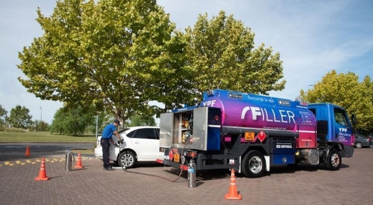 YPF lanza en Nordelta su servicio delivery para la carga de combustible en el domicilio del cliente