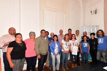 San Fernando brinda un espacio para el funcionamiento de dos organizaciones vecinales