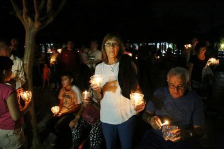 San Isidro apagó sus luces para concientizar sobre el cambio climático