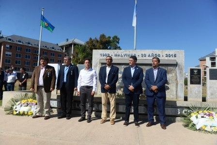 Vicente López conmemoró el Día del Veterano y de los Caídos en la Guerra de las Malvinas