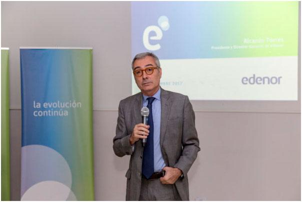 l presidente de la distribuidora eléctrica Edenor, Ricardo Torres