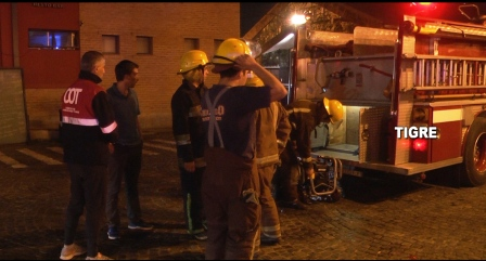 Detectan y controlan un incendio en el Puerto de Frutos