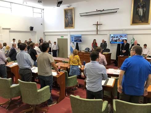 El HCD de San Isidro rindió homenaje a los héroes de Malvinas