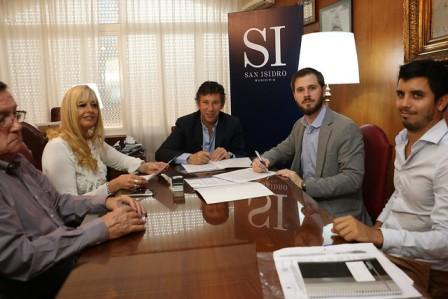San Isidro firmó un convenio para mejorar la cobertura de la asignación universal por hijo