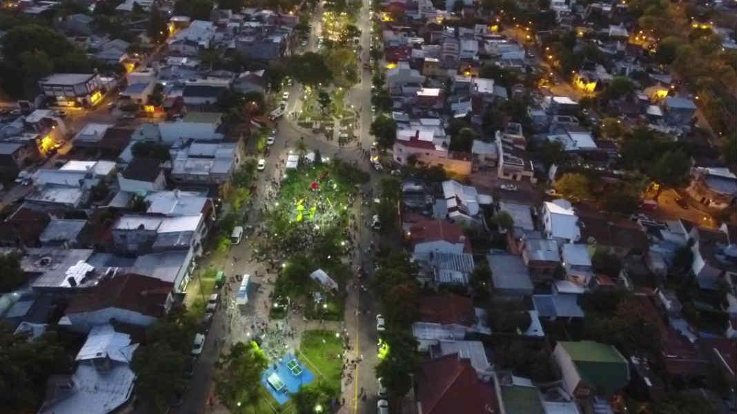 El intendente de Tigre presentó el espacio N°30 intervenido con fondos municipales, ubicado entre las calles Solís y Chacabuco, del centro de la ciudad.