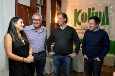 Zamora, Sujarchuk y Nardini compartieron la inauguración de un centro comunitario en General Pacheco