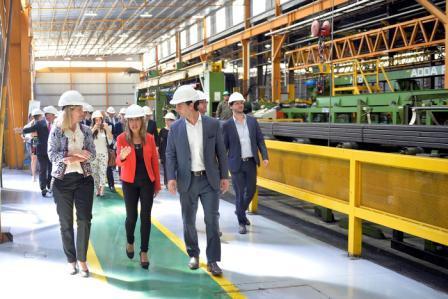 Tigre acompañó a Tubos Argentinos en el lanzamiento de su nueva línea de producción