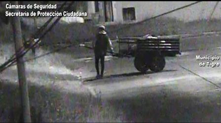 El COT actuó rápido para impedir el robo en una obra en construcción en Don Torcuato