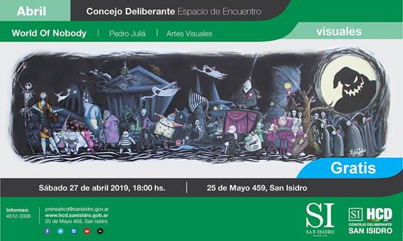 "Pedro Juliá expone ""World Of Nobody"" en San Isidro"