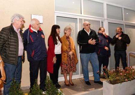 Andreotti inauguró el nuevo SUM de los bomberos Voluntarios y entregó un nuevo apoyo económico