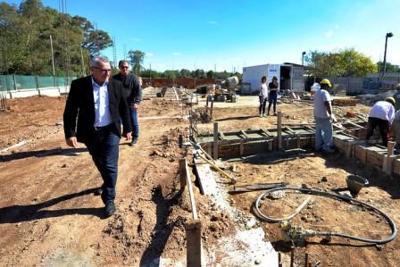 Tigre avanza con la construcción de la Escuela Secundaria N°40 de Benavídez