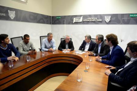 Seguridad ciudadana Tigre y Venado Tuerto firmaron un convenio de cooperación