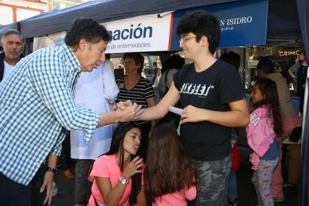 Más de 5.500 vecinos de San Isidro se vacunaron gratis contra la gripe