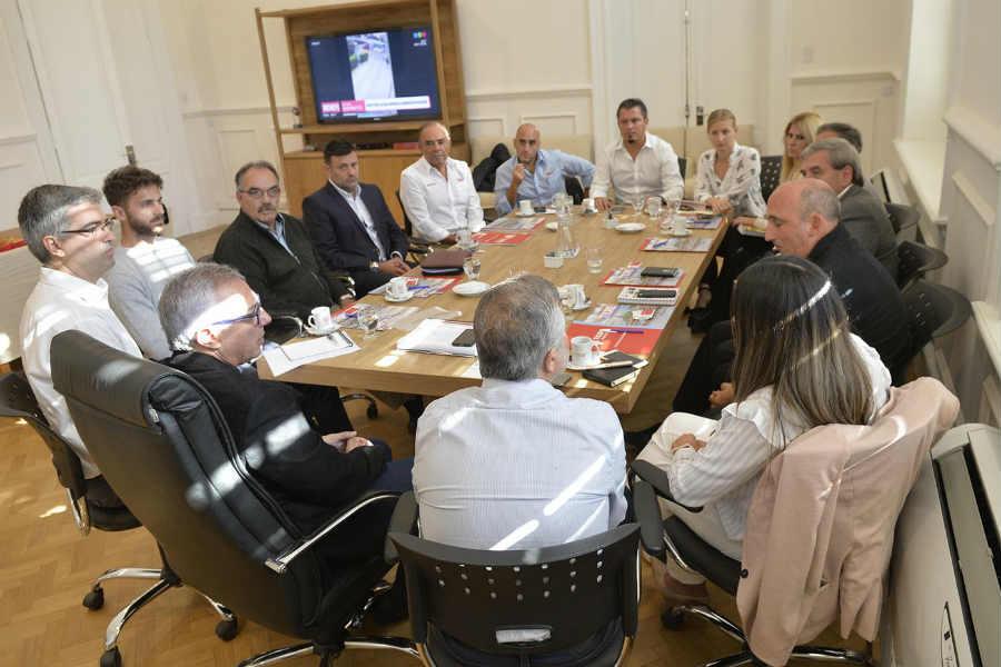 Julio Zamora se reunió con empresarios de Tigre: preocupación por el empleo y la incertidumbre económica de la Argentina