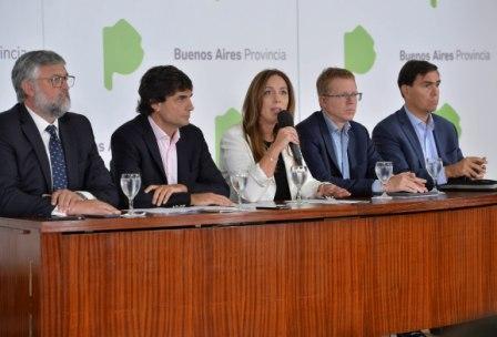 Vidal anunció un paquete de medidas económicas