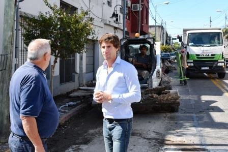 San Fernando continúa con la renovación de todas las avenidas del distrito