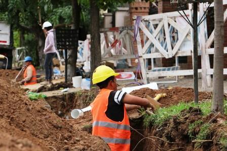 1.100 vecinos de Beccar accederán a la red cloacal