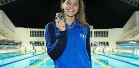 La sanisidrense Delfina Pignatiello, campeona en Brasil
