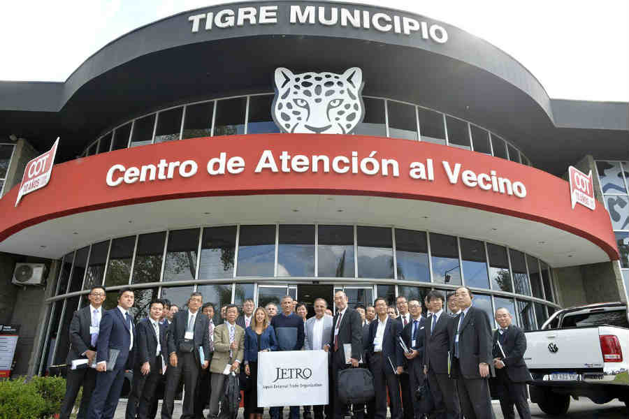 Tigre exhibió su modelo de Protección Ciudadana frente a empresas tecnológicas de Japón