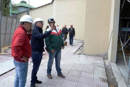 En el Puerto de Frutos de Tigre, avanza la construcción de la Galería Pindó