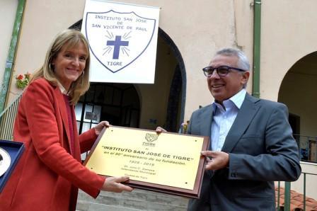 El Instituto San José cumplió 90 años junto a la comunidad de Tigre