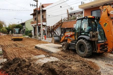 Renuevan más asfaltos en Boulogne