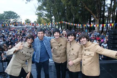 Villa Adelina festejó sus 110 años al ritmo de Los Beatles