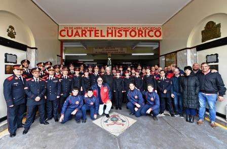 Los Bomberos Voluntarios de San Fernando festejaron su 123° aniversario