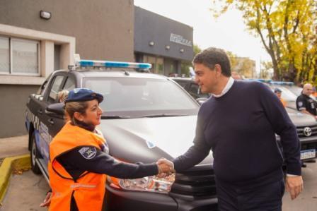 Vicente López presentó nuevas patrullas