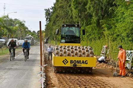 El Municipio comenzó la renovación de la Costanera Pública de San Fernando