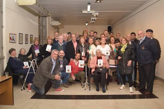 Luis Gallardo Bergara presentó su autobiografía en San Isidro