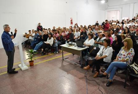Bernardo Stamateas presentó su nuevo libro en San Fernando