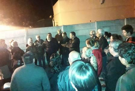Vecinos de General Pacheco se reunieron con el delegado municipal