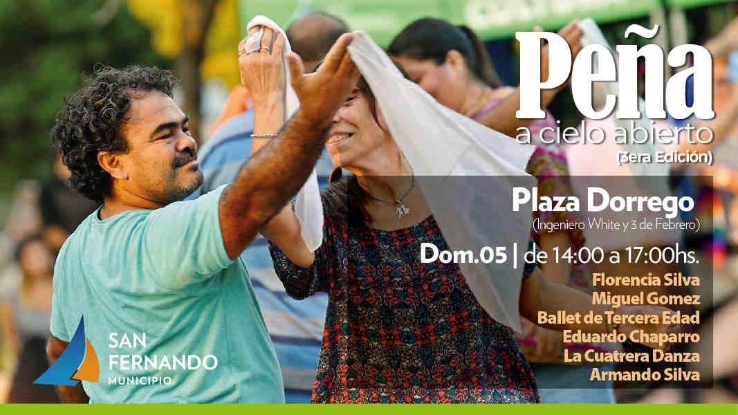 Se viene una nueva Peña a Cielo Abierto en San Fernando