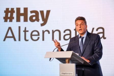 Sergio Massa define su futuro electoral el jueves en el congreso del Frente Renovador