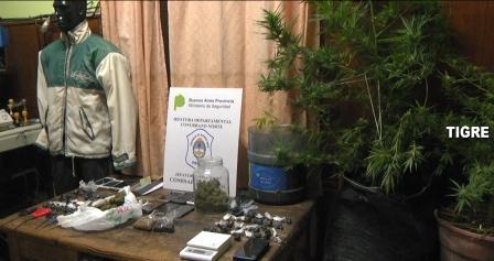 Desarticularon una red de venta de estupefacientes en Tigre