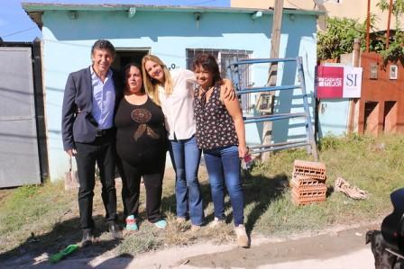 San Isidro y Nación mejoran más de 240 viviendas en el barrio Martín y Omar